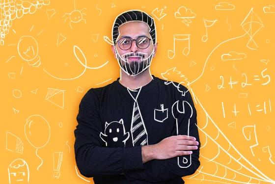 Hiten Rajgor doodle picture