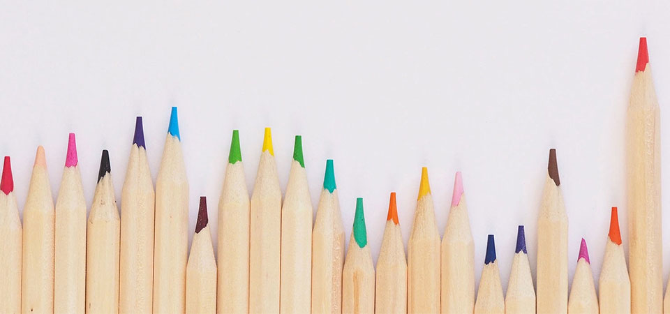 Branding Colors - Pencil Colors
