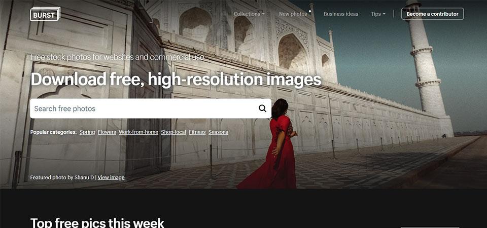 Burst stock photos by shopify