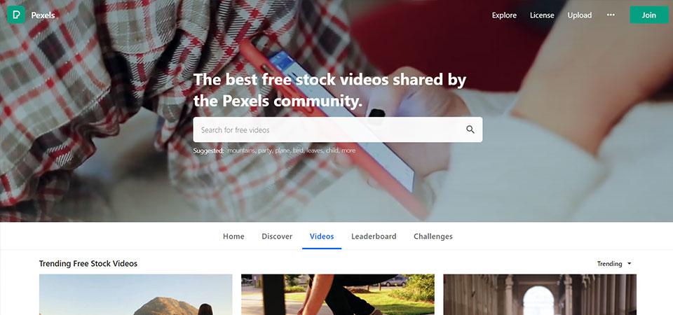 Pexels.com - Stock Video Site