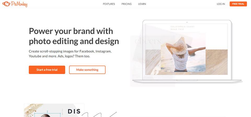 Pic Monkey Design tool