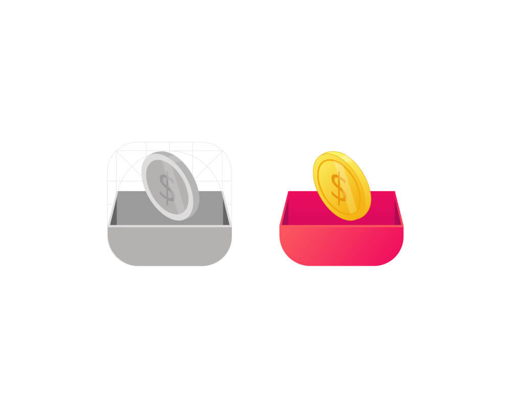 App icon design for Mutual-Funds