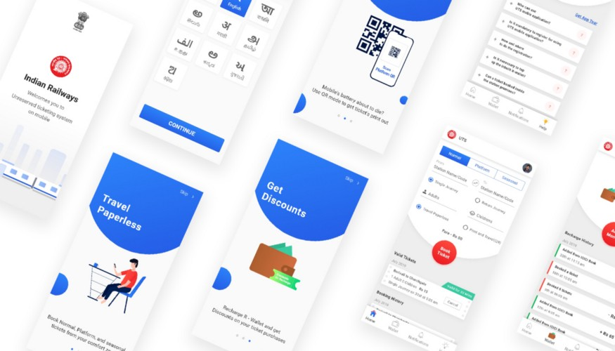 New UI for UTS by Hiten Rajgor