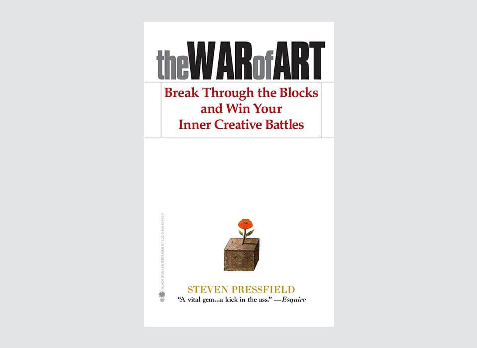 the War of Art Book by Steven Pressfield